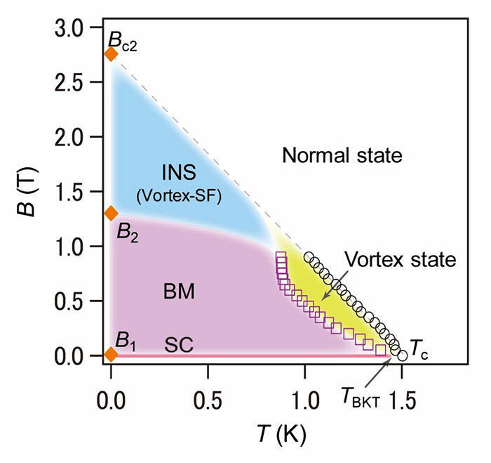 Superconductivity-related states