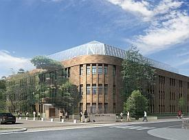 An artist's impression of the new WPI-AIMR building to be completed in 2011.