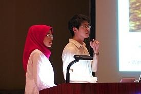 Students presented their work over the last two days of the ASSM2012