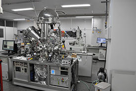 The Common Equipment Unit was set up to allow open access to essential apparatus, such as electron microscopes and a photoemission spectrometer, for all researchers at the AIMR.
