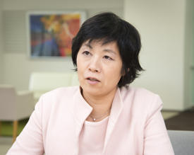 Motoko Kotani, director of the AIMR and a principal investigator in the Mathematics Unit.