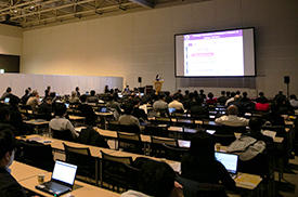 Over 250 researchers attended the three-day symposium.